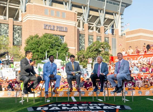 ESPN's College GameDay visited Kyle Field in College Station, Texas, on Sept. 8. And the WSU Cougars flag was there.