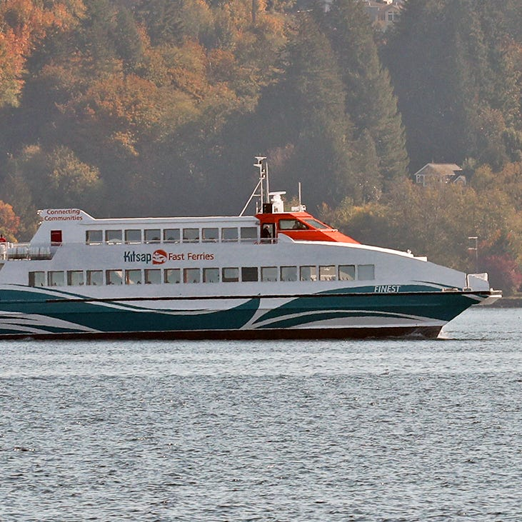 Kitsap Transit takes delivery of M/V Finest
