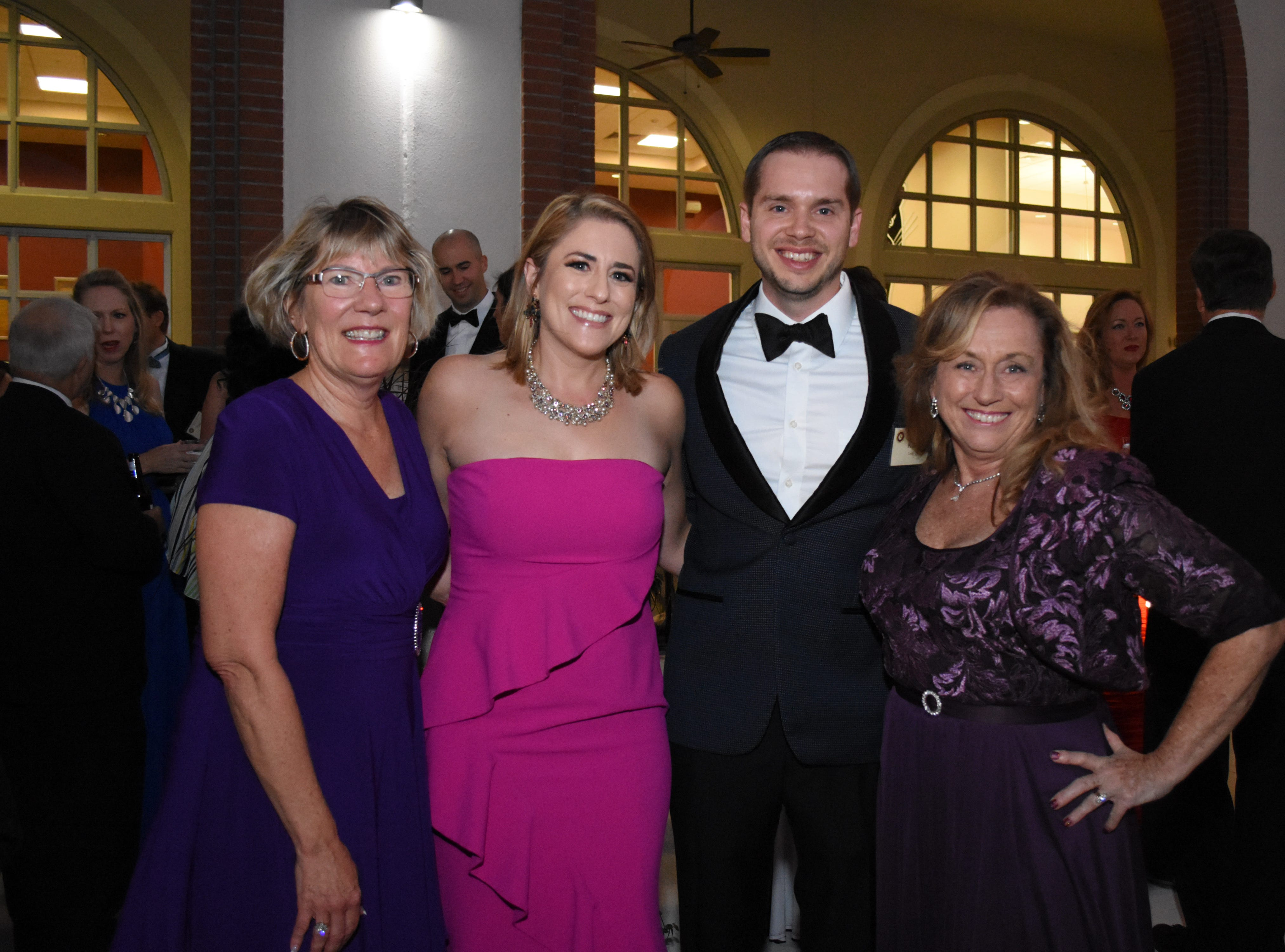Members of the College of Business pose for a photo at Florida Tech's 60th Anniversary Homecoming Gala Oct. 13, 2018, at the Clemente Center.