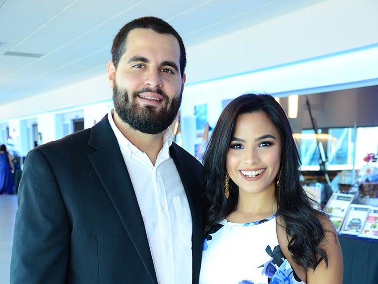 Also in attendance for the Fly Me to The Moon gala for the Jess Parrish Foundation were Ricardo and Rosangela Spear.