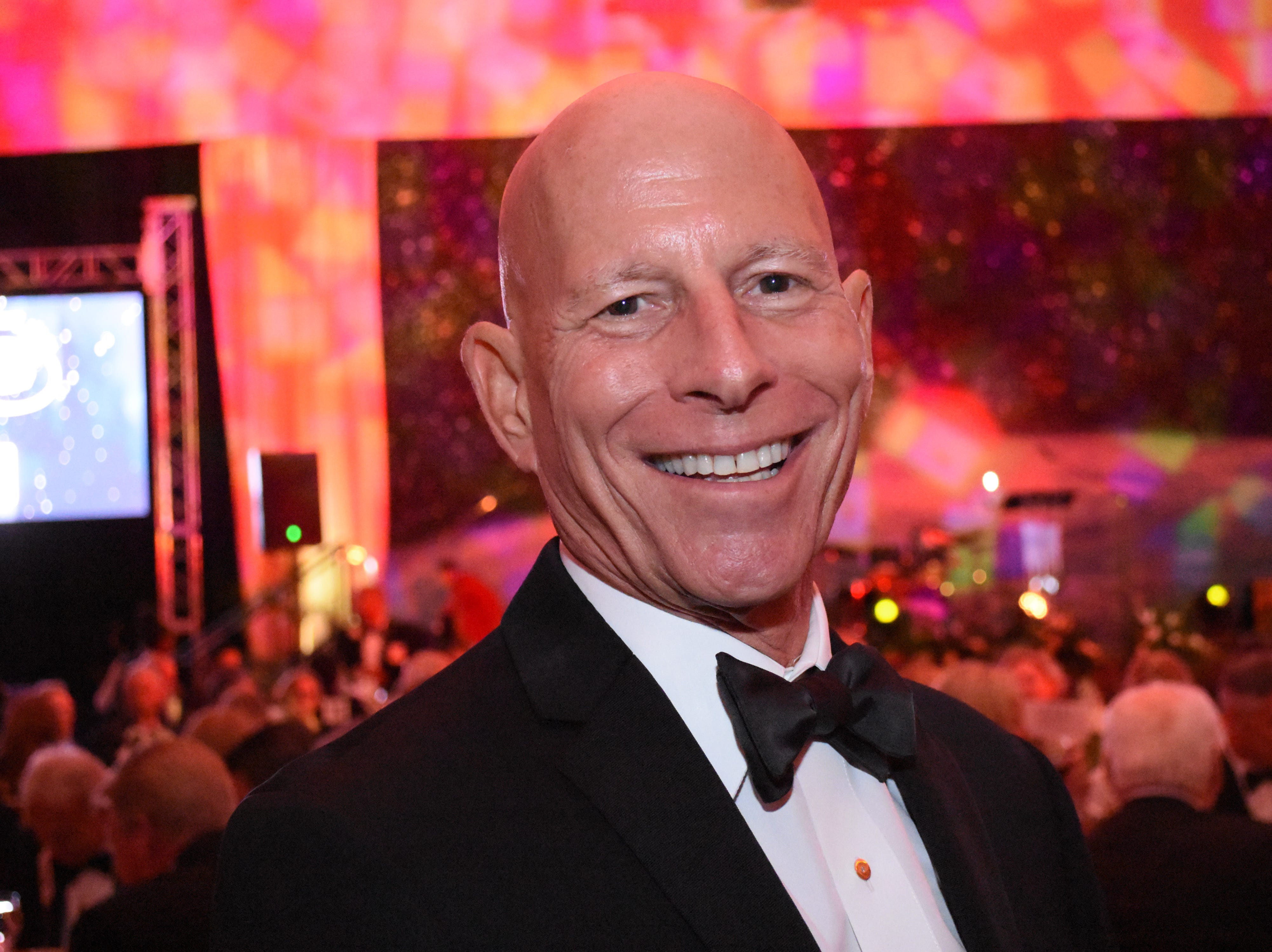 Duane Defreese poses for a photo at Florida Tech's 60th Anniversary Homecoming Gala Oct. 13, 2018, at the Clemente Center.