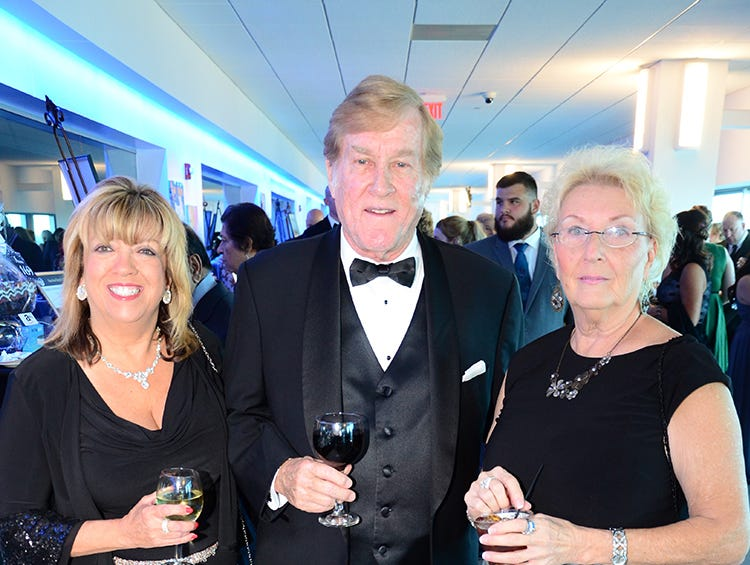 Rebecca Saunders-Leger, Ed Pierce, and Linda Kent looking great Saturday night for the Jess Parrish Foundation gala Fly Me to The Moon held at Port Canaveral.