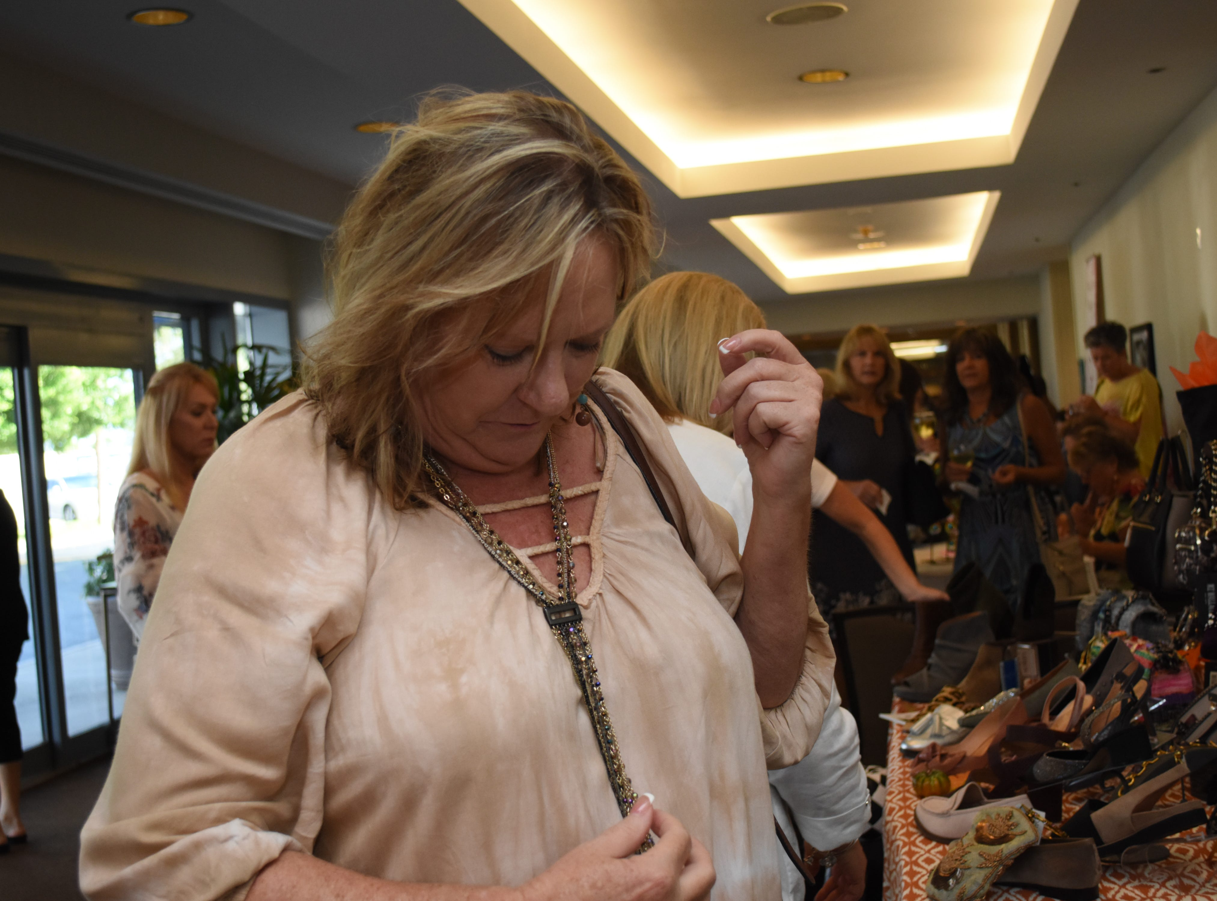 Photos from the 2018 Purses with a Purpose fundraiser in Melbourne.