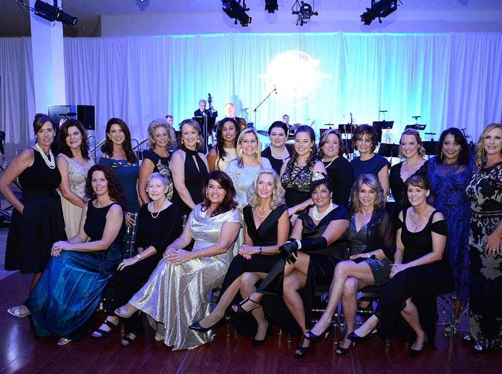Fine group of professionals that represented the Jess Parrish Foundation Saturday night during the Fly Me to The Moon gala held at Port Canaveral.
