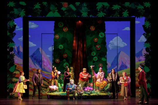 """The cast of """"Roald Dahl's Charlie and the Chocolate Factory."""" The new musical adaptation of Dahl's beloved book show runs Oct. 23-Nov. 4 at the Aronoff Center as the opening presentation of the 2018-2019 Broadway in Cincinnati series."""