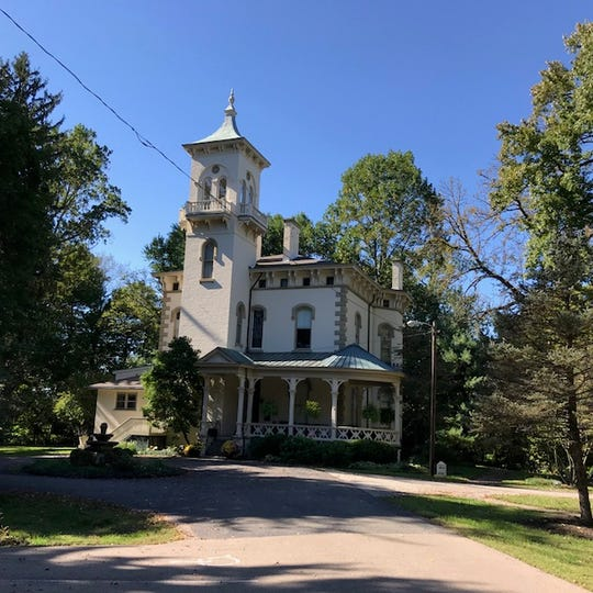 The Promont museum in Milford on Oct. 17, 2018. The city is planning a flagship park at the Five Points intersection and would like to incorporate some features of Promont in its design.