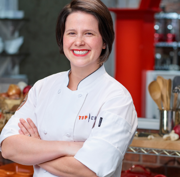 Local restaurant owner, Caitlin Steininger, competes on 'Top Chef' filmed in KY