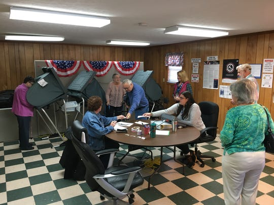 On the first day of early voting, a total of 170 people cast their ballots at the Houston County Election Office.