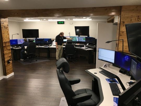 Renovations of the Stewart County 911 center included three dispatch consoles, of which only two are currently in use.