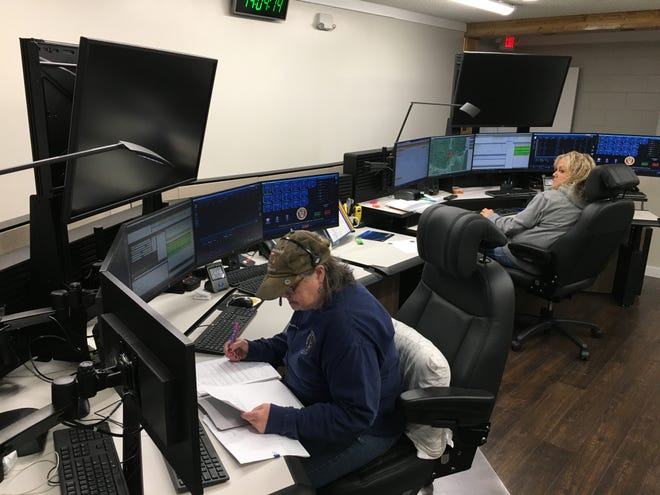 Dispatchers at Stewart County 911 have new equipment and a remodeled workspace following renovations and replacement of equipment following a lightning strike.