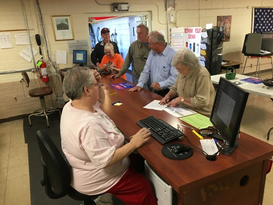 Voters in Stewart County had a short wait to cast early ballots for the Nov. 6 election when the wait time will be longer.