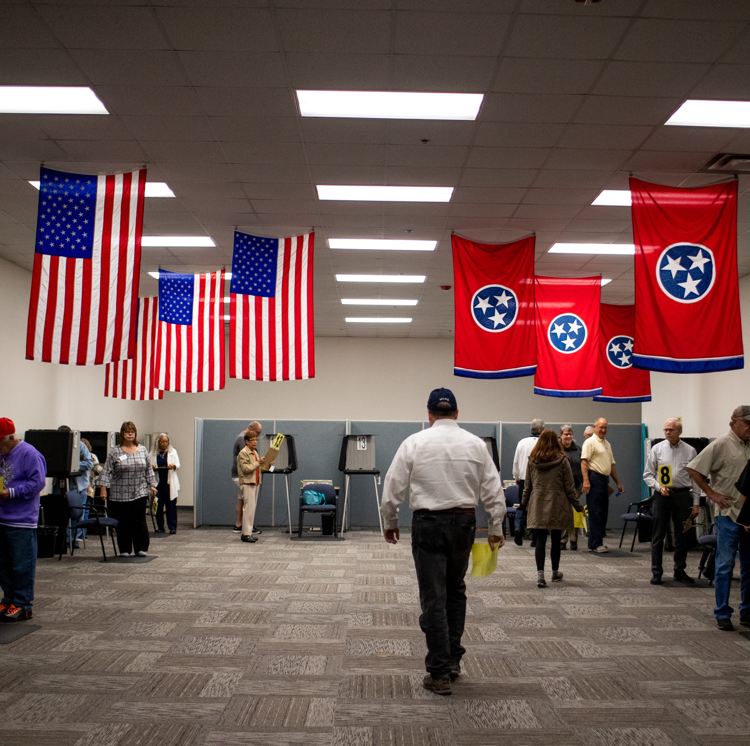 Photos: Early voting in Montgomery County