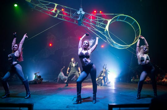 Paranormal Cirque is a crazy yet fun fusion between circus, theater, and cabaret and is coming to Woodbridge starting Oct. 25.