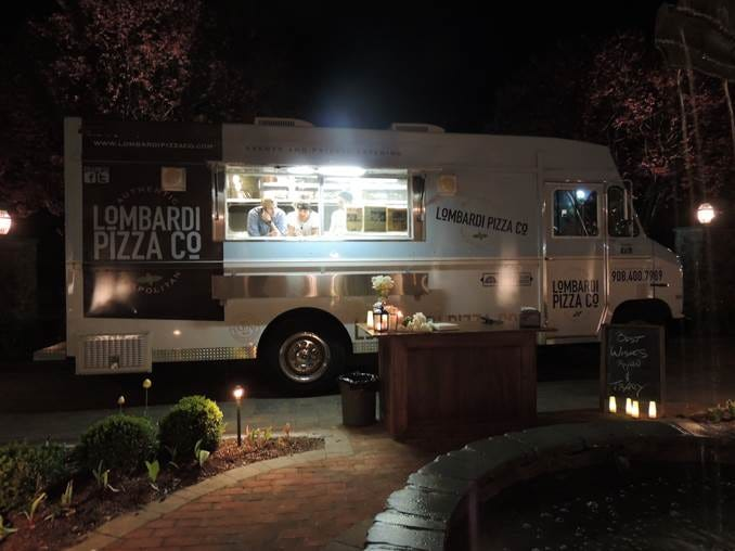 Already a popular staple at festivals, private celebrations and community events, severalfood trucks haveput down roots in local brick and mortar establishments. While they may have started mobile, these Central Jersey ventures—Oink and Moo BBQ, Lombardi Pizza Co. (pictured),Aunt Dee Dee'sand The Halal Guys — now have permanent physical addresses where customers can come and dine.