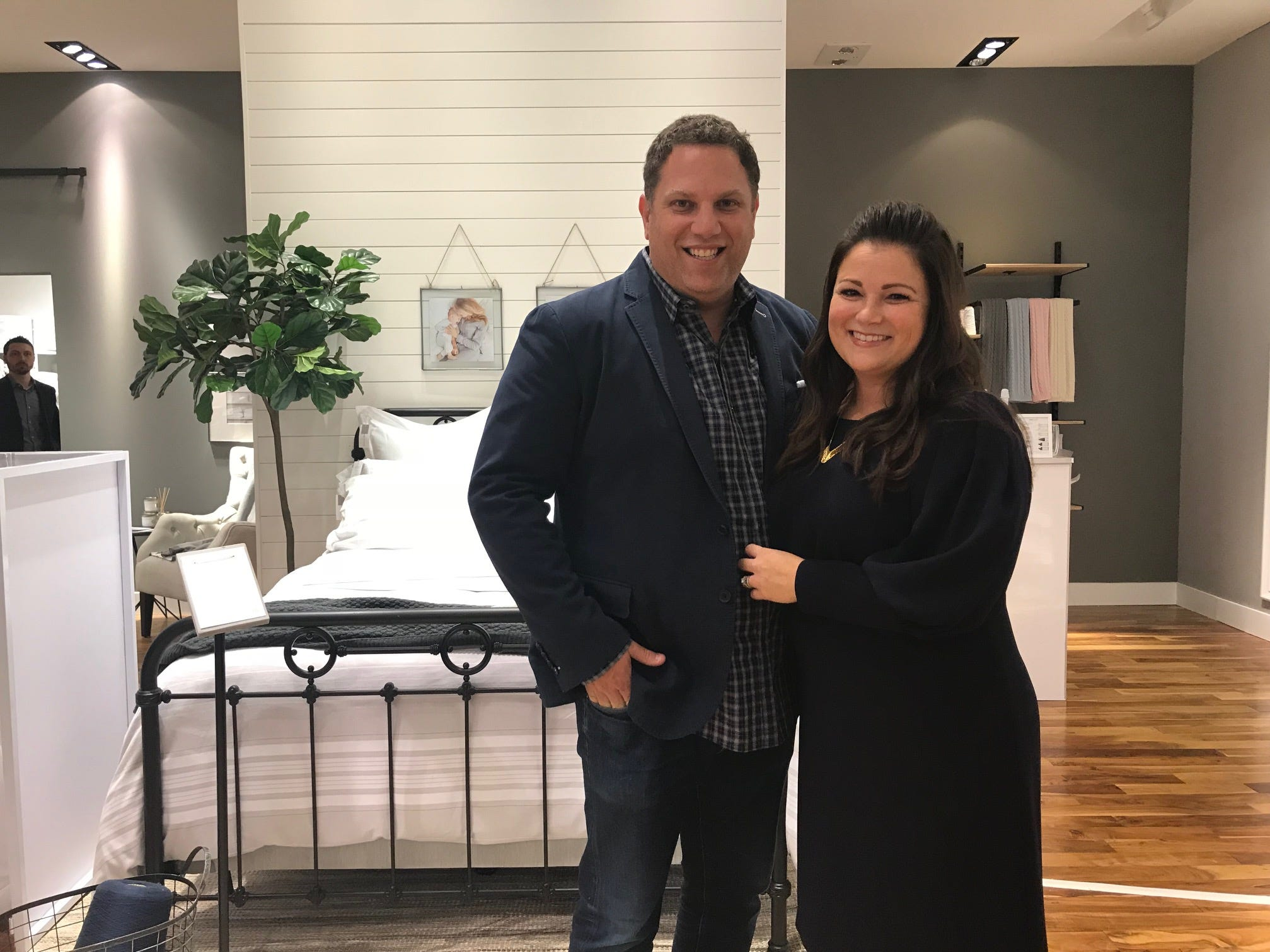 Scott  and Missy Tannen, founders of Summit-based bedding retailer Boll & Branch, recently opened their first store at The Mall at Short Hills. The brick-and-mortar flagship location features the world's first organic, Fair Trade-certified brand's full collection of ethically made and sustainably sourced items.