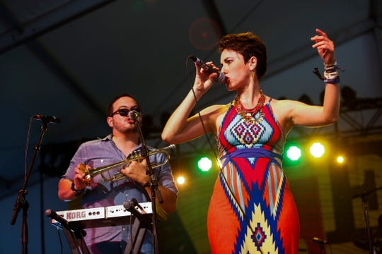 Latin songstress and 10-time Austin Music Award winner Gina Chavez will perform at Kean University's Enlow Recital Hall on Sunday, October 21 at 3 p.m.