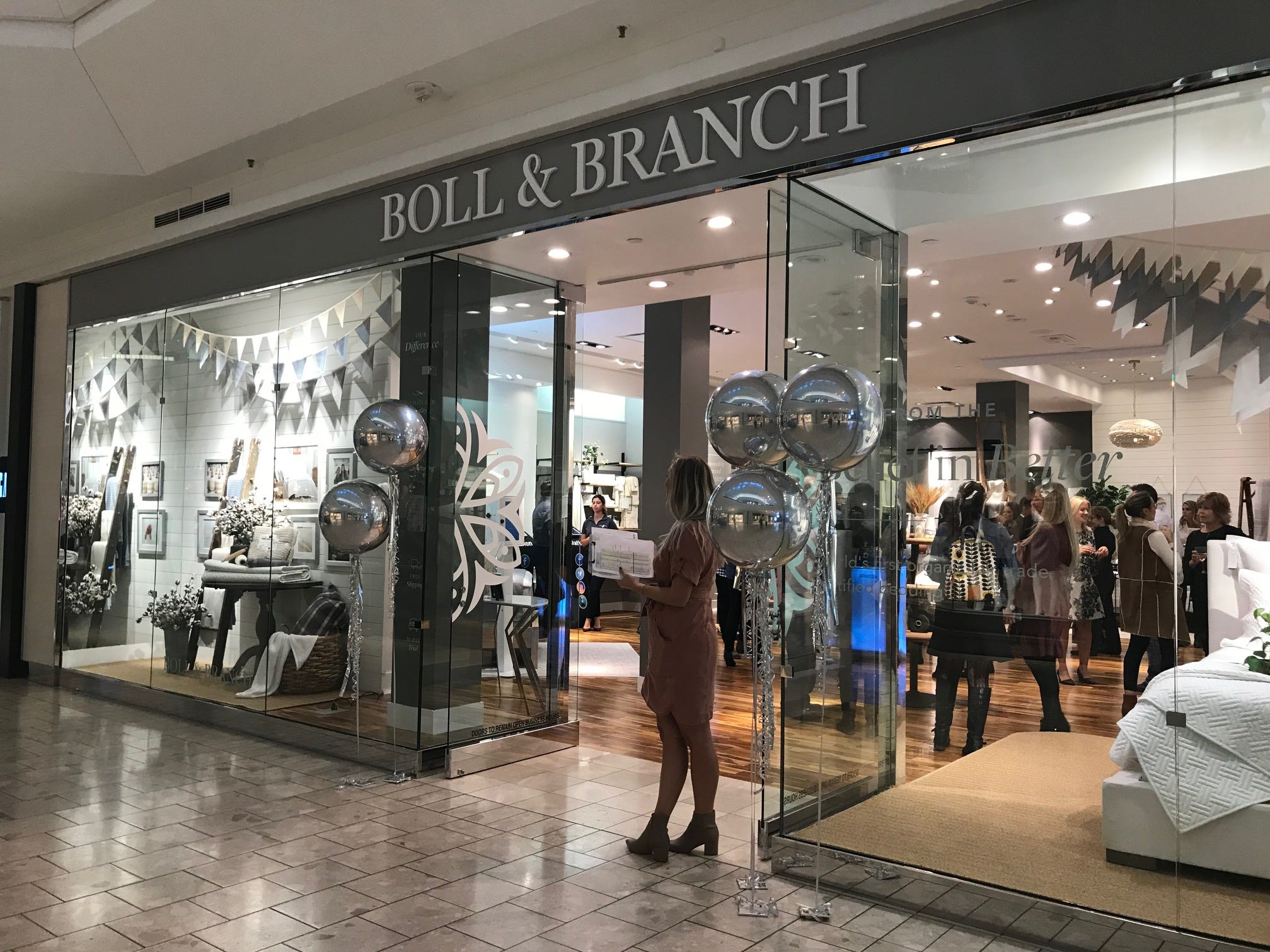 Summit-based Boll & Branch, the world's first organic, Fair Trade-certified bedding retailer, opened its new flagship store at The Mall at Short Hills in September. The brick-and-mortar location features the brand's full collection of ethically made and sustainably sourced items.