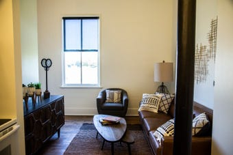 The Fort Des Moines Living apartments are ready for move in.