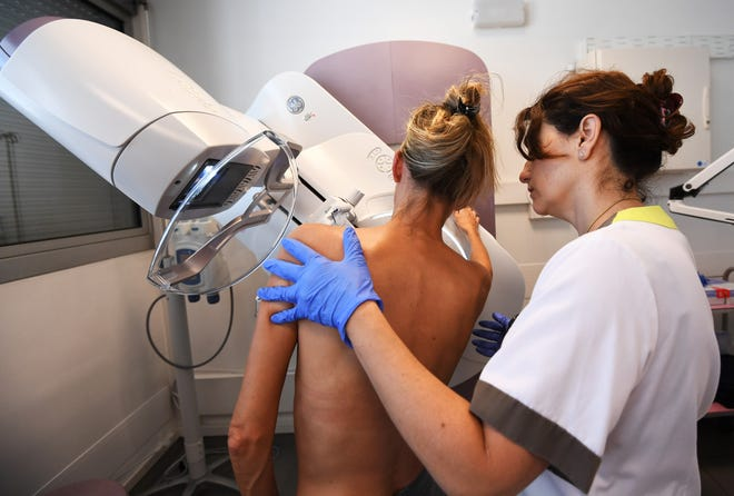 Having dense breast tissue can increase the risk of breast cancer and make it more difficult to detect before it spreads.