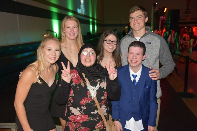 Iowa City's West High School Homecoming Court didn't have kings and queens, but instead, students were nominated based off their qualities they brought to the school.