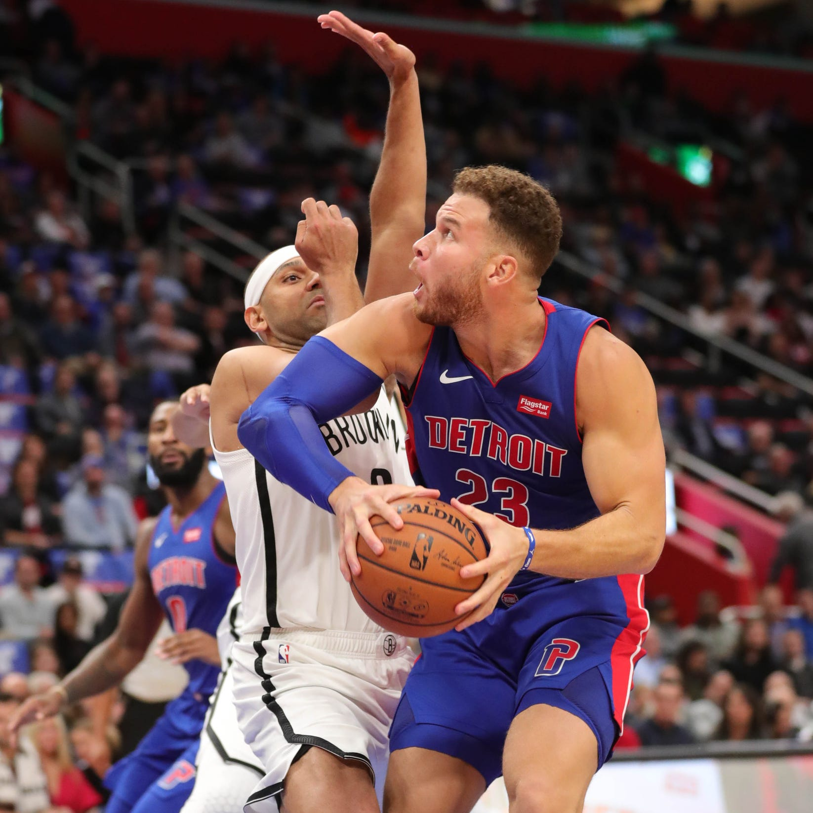 Detroit Pistons' answer to small ball? Blake Griffin, Andre Drummond