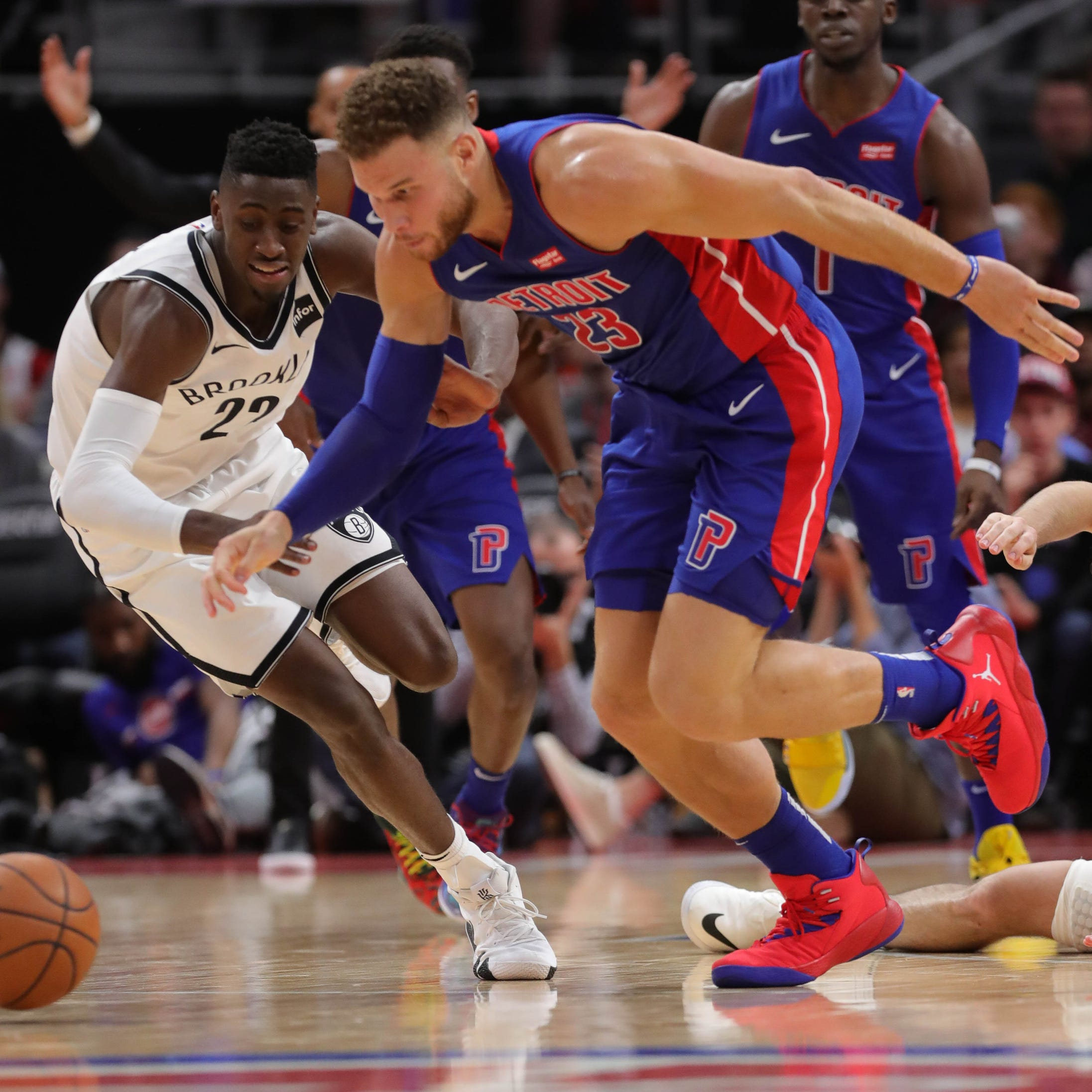 Detroit Pistons show some promise - and warts - in season-opening win