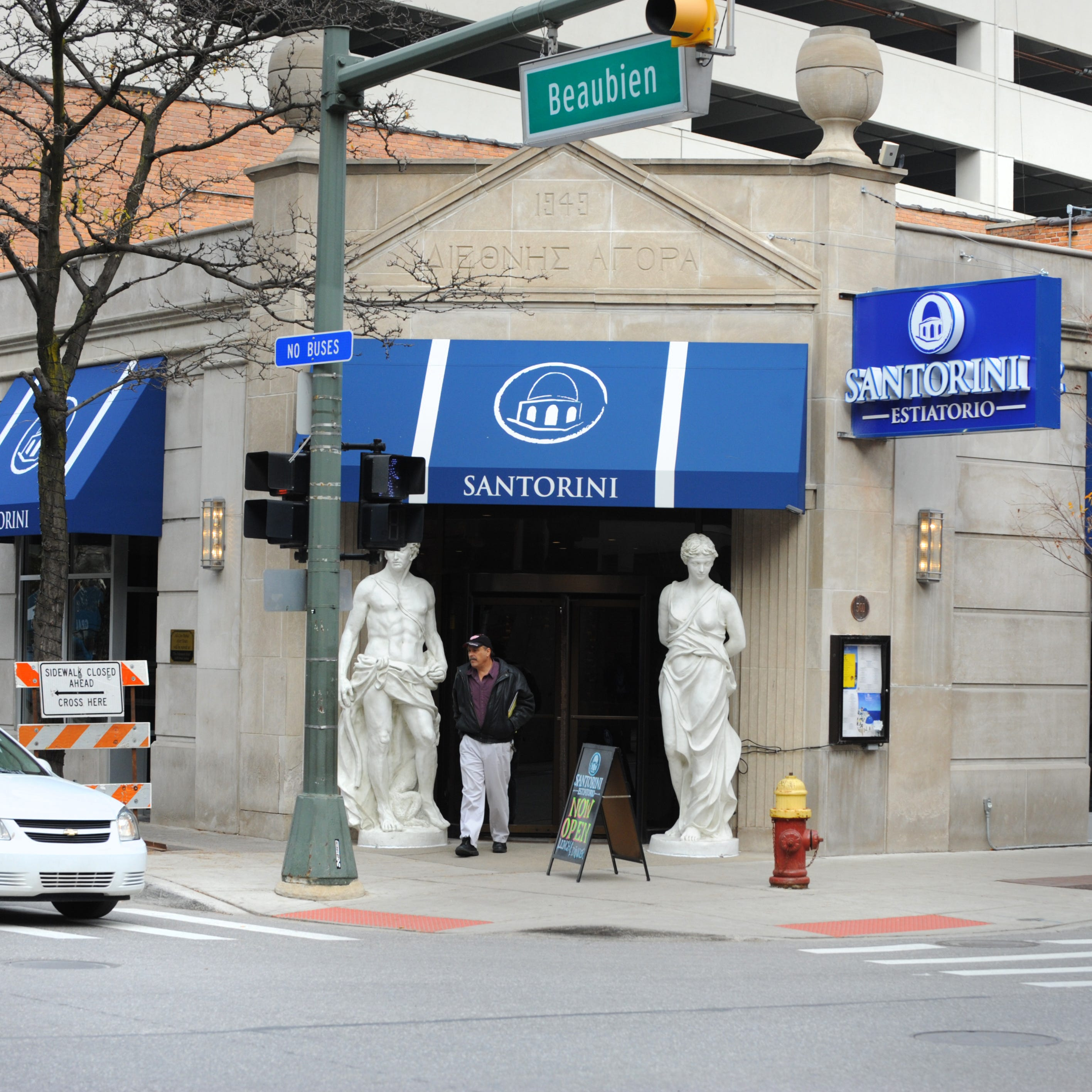 Greektown restaurateurs close New Parthenon and Santorini for renovations