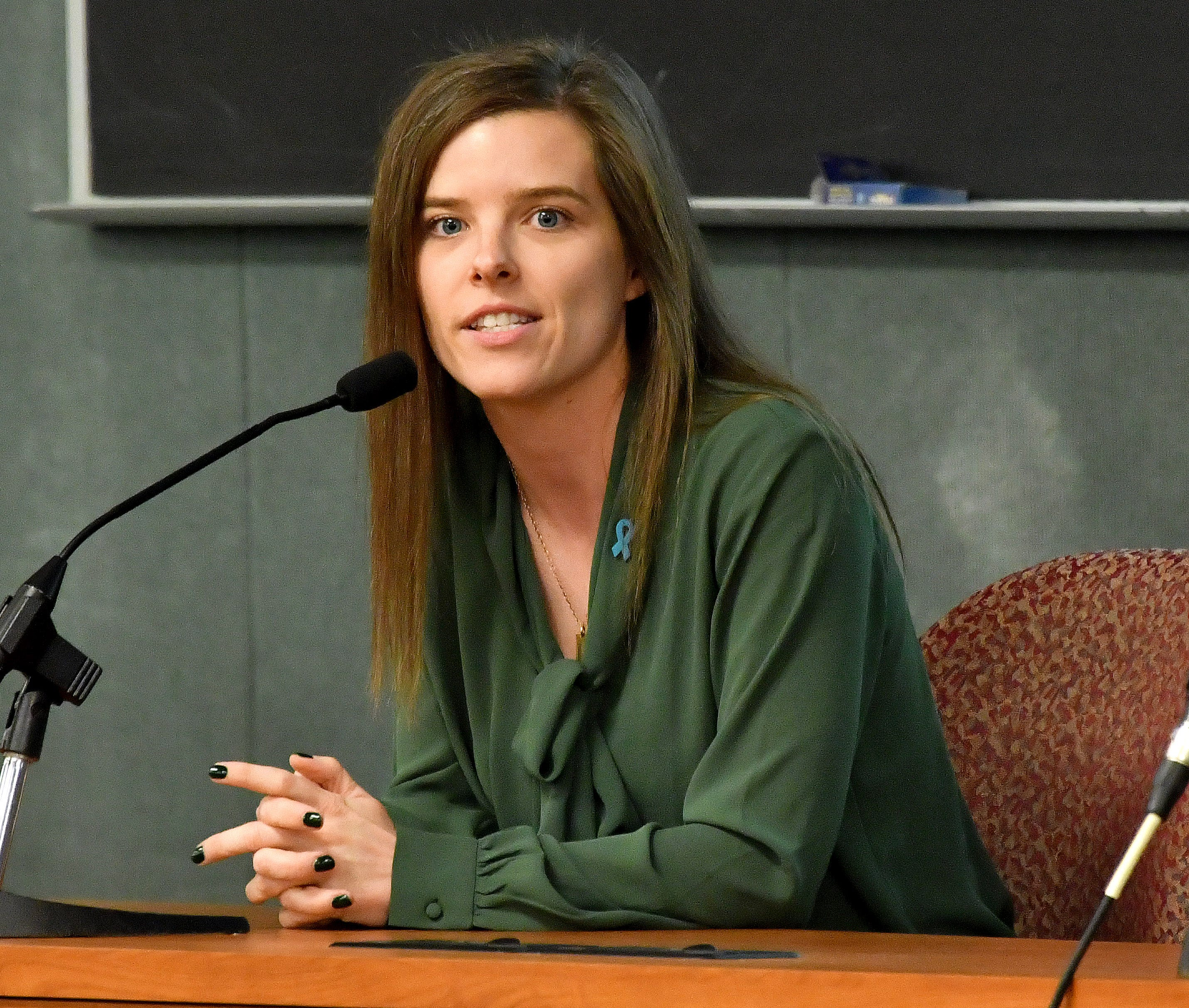 Kelly Tebay, who graduated from MSU about five years ago, is the youngest of the candidates for Michigan State University board of trustees.