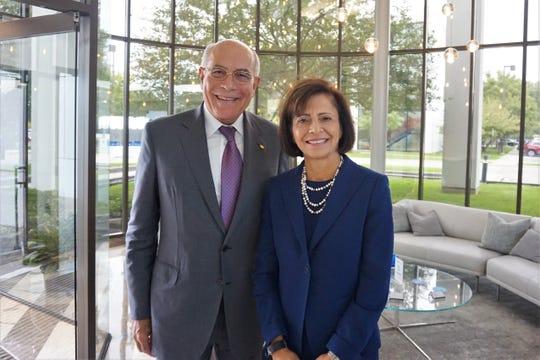 Owner Yousif Ghafari, left, and Kouhaila Hammer, CEO of Ghafari Associates