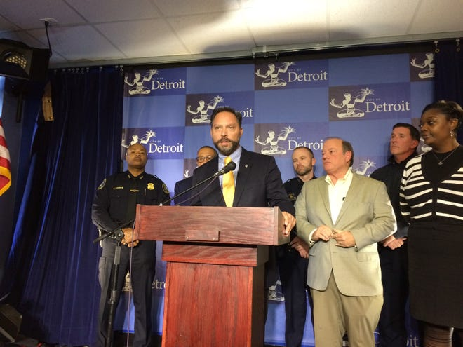 """Detroit Police Officers Association Mike Diaz said the raises in the contract extension are a """"huge step in the right direction."""""""