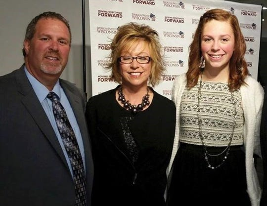 Wisconsin state Sen. Rick Gudex attended many state political events with his wife Kim and daughter Alexana. Gudex suffered from depression and died by suicide in October 2016.