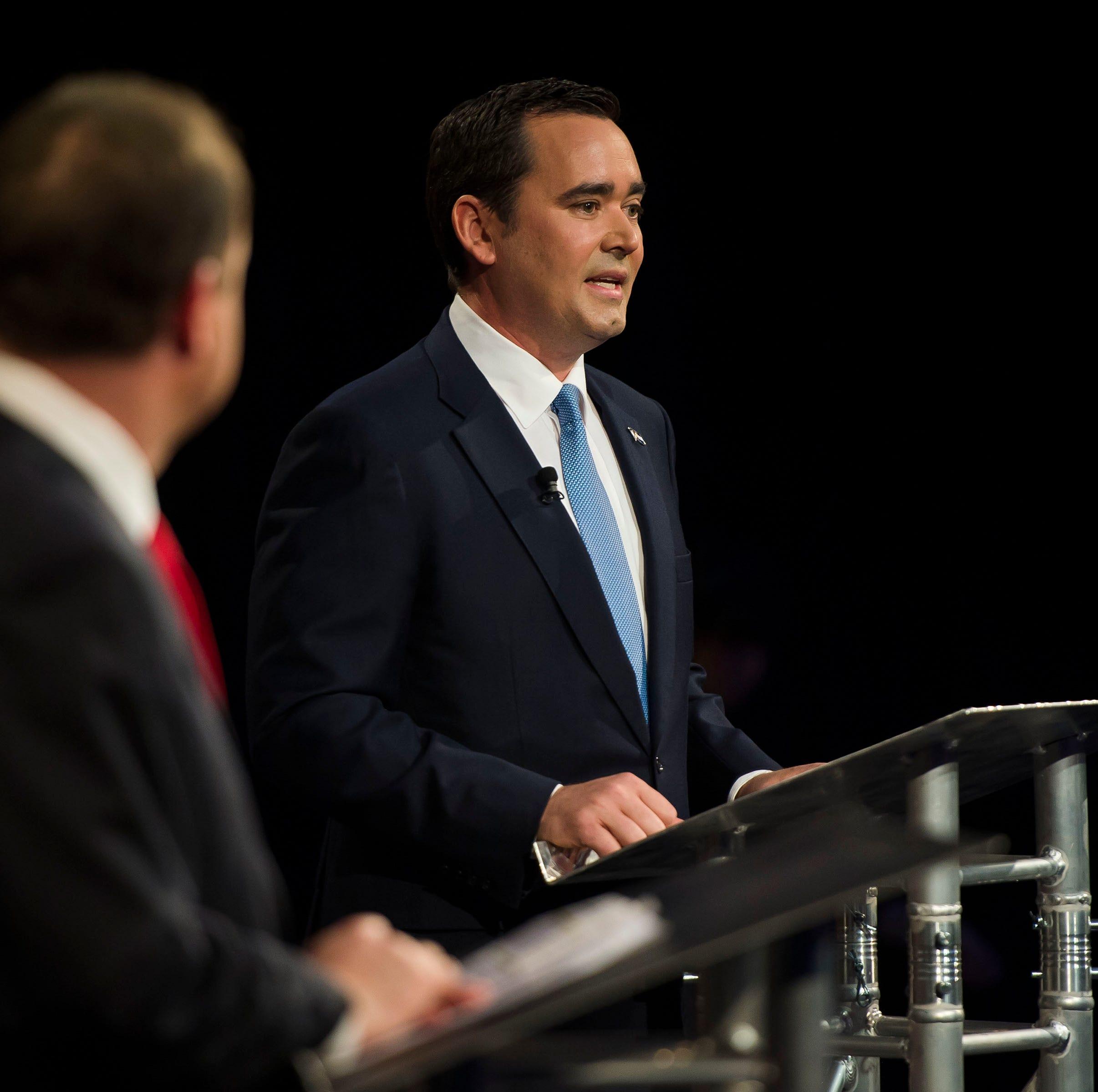 Colorado governor candidates Jared Polis, Walker Stapleton face off at debate