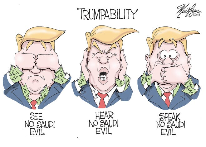 See no Saudi evil.
