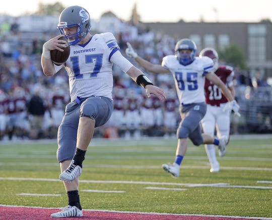 Green Bay Southwest's Nick Howard has made a verbal commitment to play at Cornell University next year.
