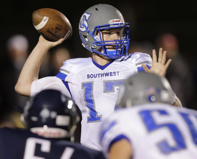 Green Bay Southwest quarterback Nick Howard threw for more than 2,000 yards in each of his final two seasons.