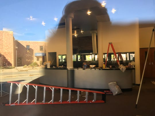 Renovations appear to be underway inside the West Theatre. New owners plan to re-open the venue as the Tarlton Theatre.