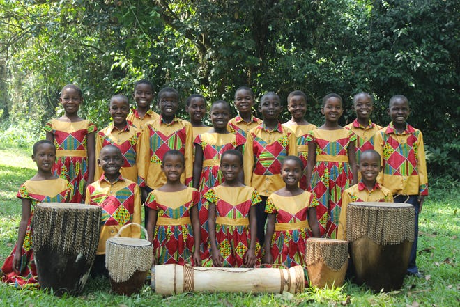 The African Children's Choir will give two performances in Great Falls in early November.
