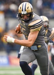 Montana State sophomore quarterback Troy Andersen has rushed for 1,199 yards and 19 touchdowns this season.