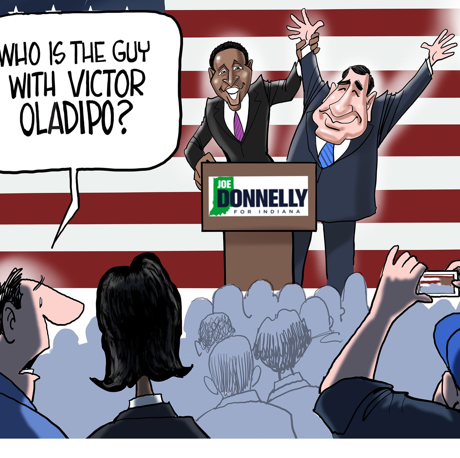 Cartoonist Gary Varvel: Oladipo endorses Donnelly
