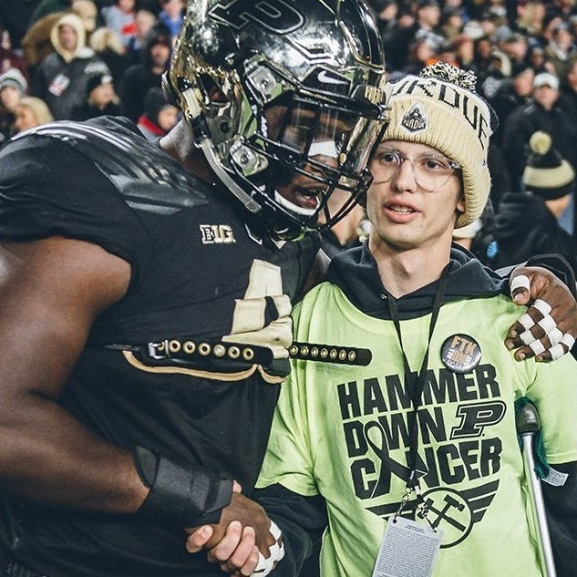 Drew Brees tweets support for Tyler Trent ahead of Purdue football tilt vs. Ohio State