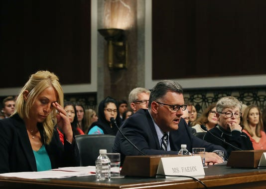 Former U S Gymnastics Officials Testify To Senate Committee On Preventing Abuse And Ensuring Safe Environment For Athletes