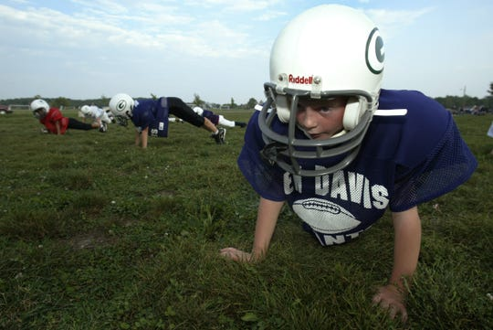 FILE – Thomas Allen, whose father Tom coached at Ben Davis, was born in Indiana and played Pop Warner football here.
