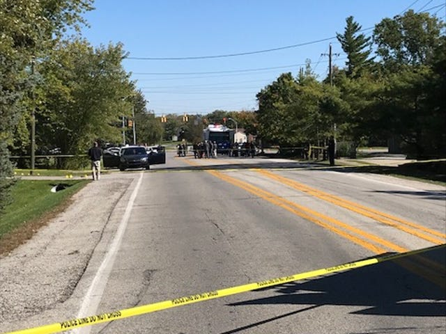 IMPD investigate an officer-involved shooting on the east side.