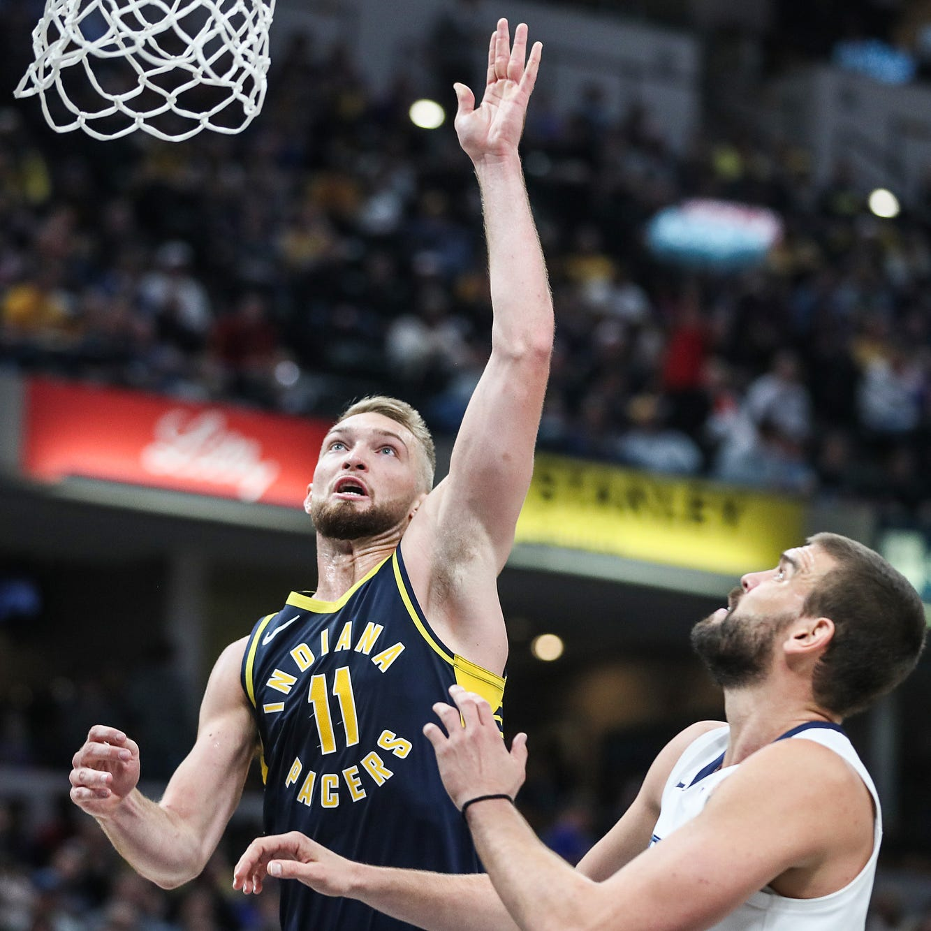 Easy decision for Pacers to pivot back to Domantas Sabonis even after Kyle O'Quinn's play