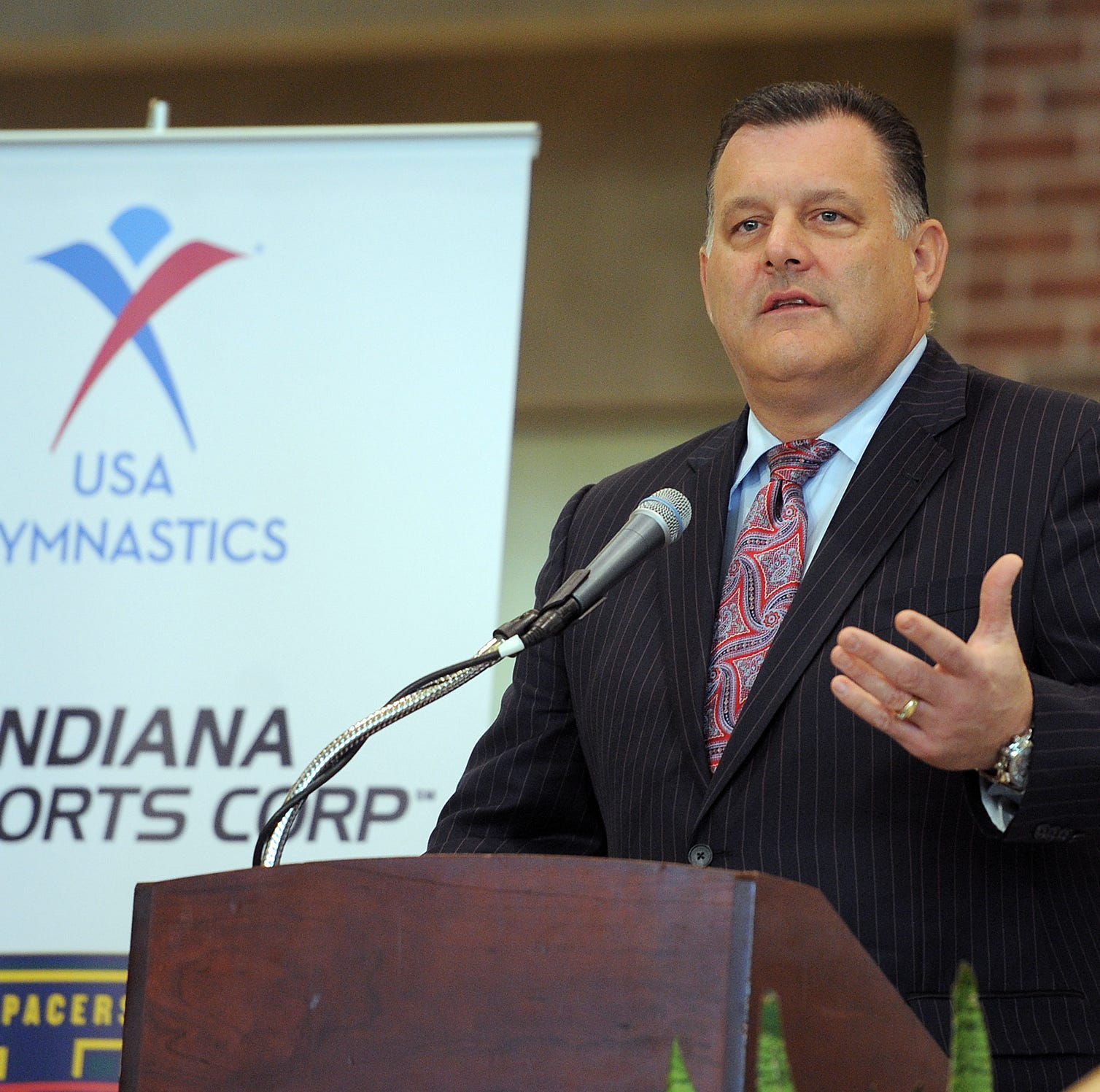 Ex-USA Gymnastics boss Steve Penny approached top Indy FBI agent about Olympic security job