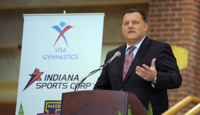 Steve Penny, former president of USA Gymnastics, has been accused of failing to protect children while concentrating on winning Olympic medals.