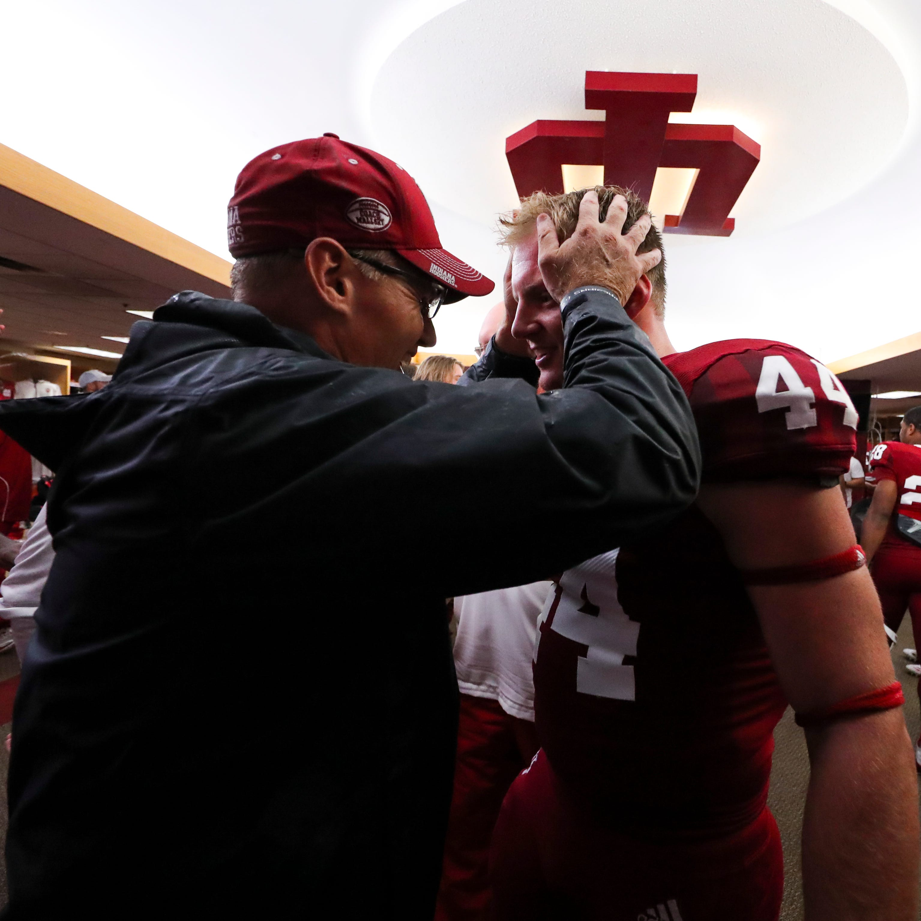 For IU football's Tom Allen, coaching his son brings unique challenges, but also cherished moments