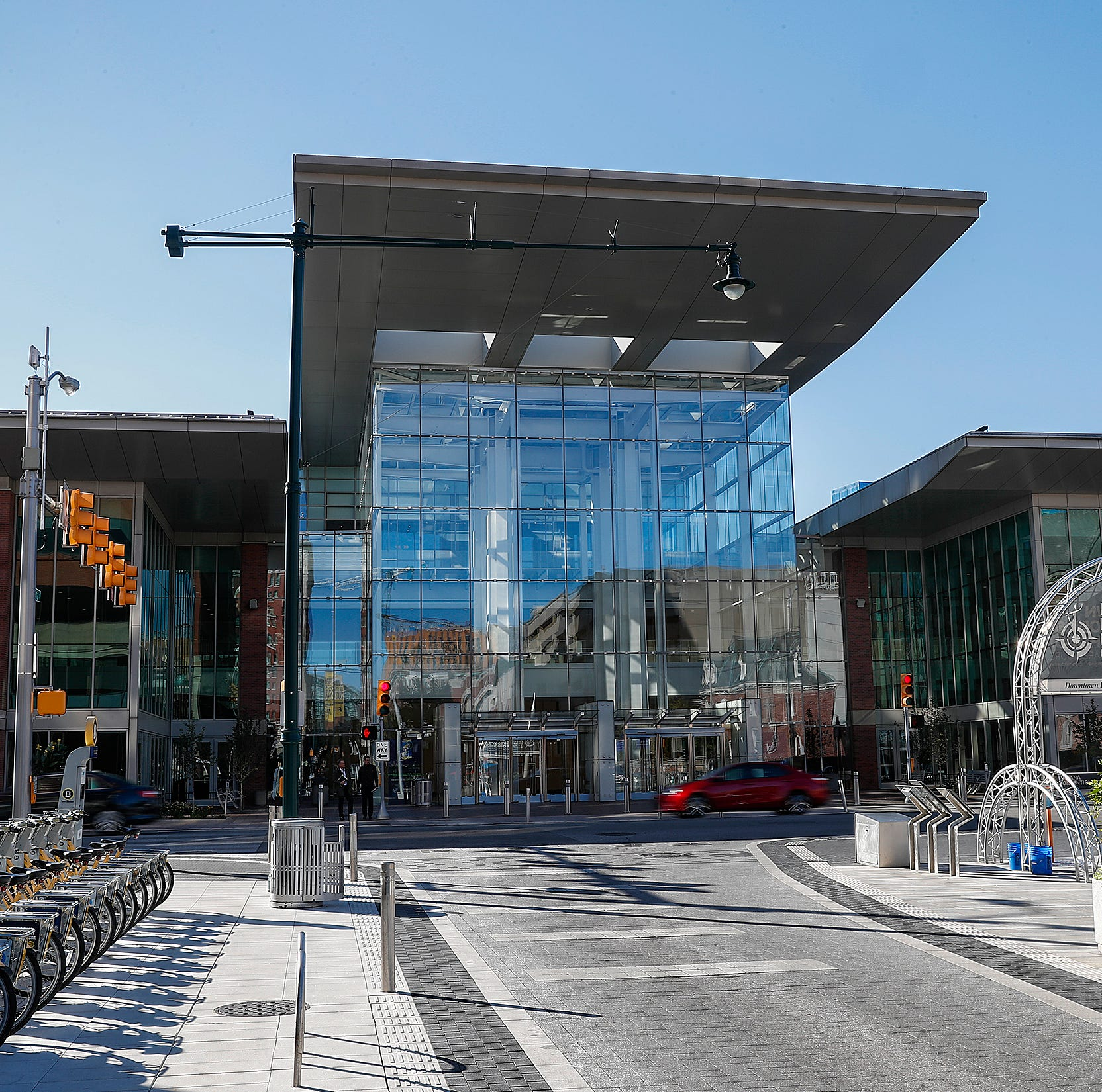The Indiana Convention Center downtown...