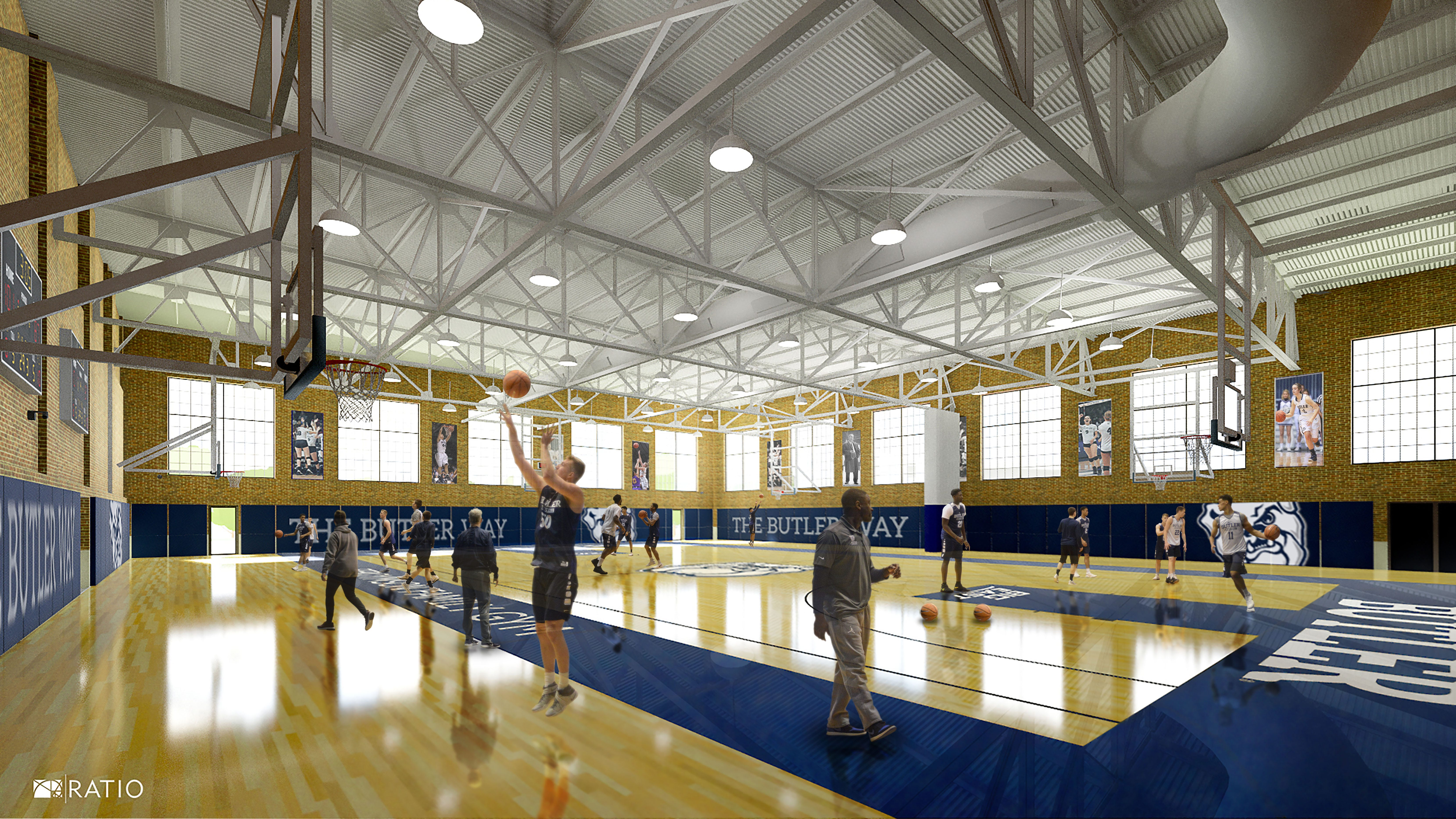 Butler basketball to get revamped practice facility at Hinkle Fieldhouse