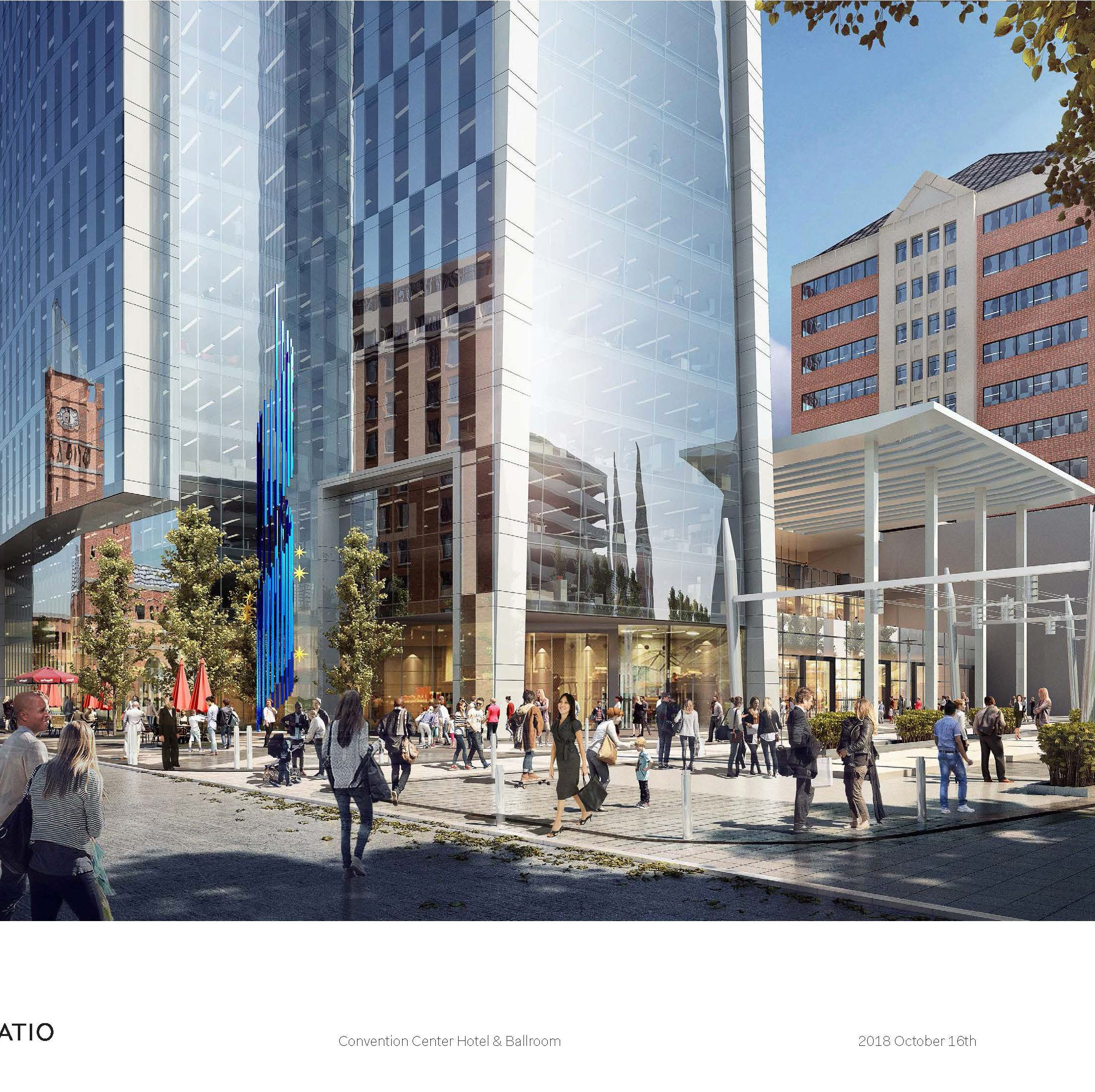 Swarens: 'Iconic project' would bring hotels, expanded convention center to Indianapolis